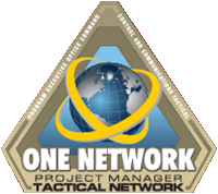 Pm TN Project Manager Tactical Network Logo